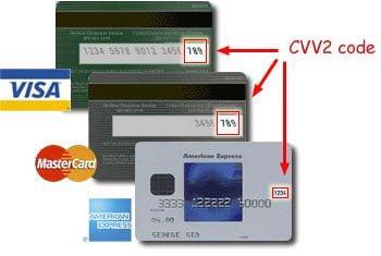 CCV kodu nereden bakilir