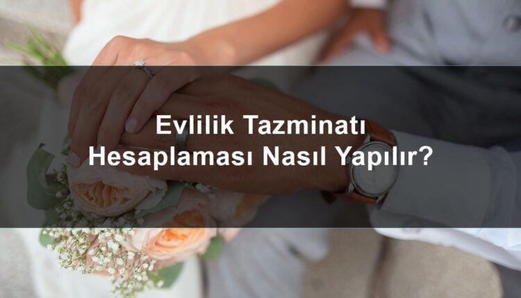 Evlilik TazminatıAlmaŞartları