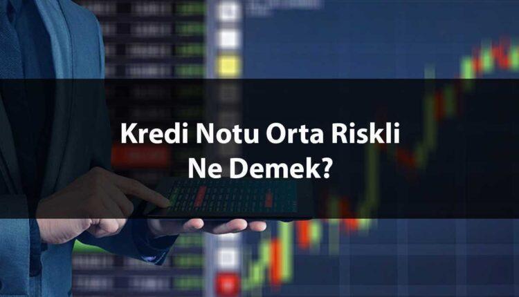 Kredi Notu Orta Riskli